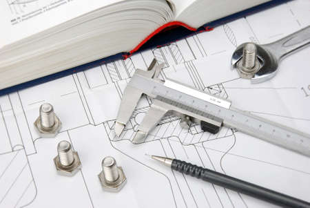 big book on technical drawing for mechanical engineering photo