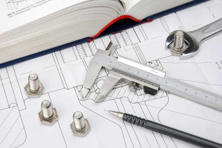 tuercas y tornillos: gran libro sobre el dibujo t�cnico de ingenier�a mec�nica