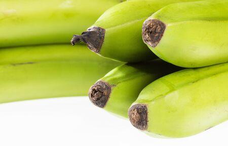 Organic green plantain - Musa x paradisiaca Reklamní fotografie