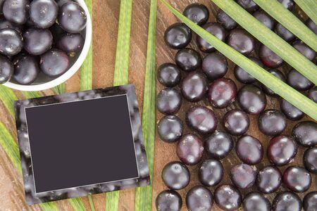 Fresh acai berries - Euterpe oleracea