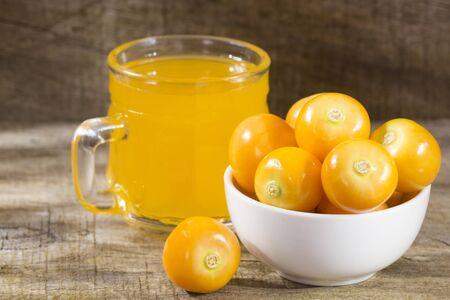 Uchuva juice - Physalis peruviana