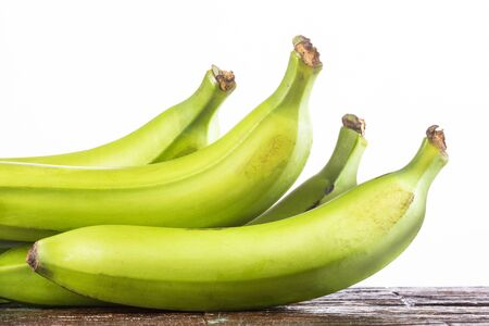 Organic green plantain - Musa x paradisiaca