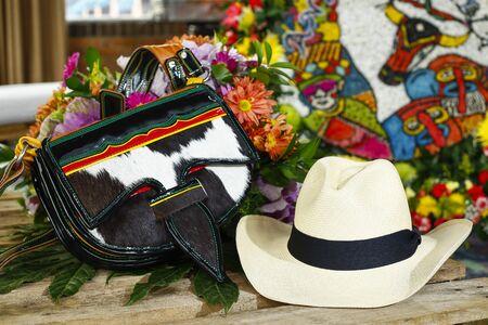 Parade Silleteros, Foire aux Fleurs, Medellin, Antioquia, Colombie