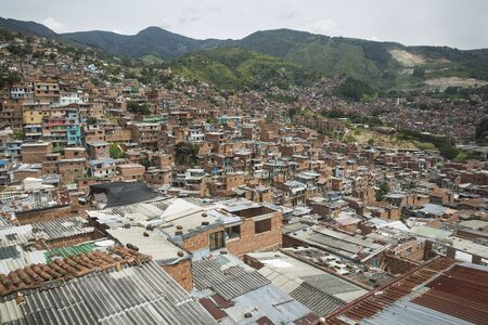 Medellín, Antioquia / Colombia - Commune 13, San Javier is one of the 16 communes of the city, located to the west of the Western Central Zone of the city.