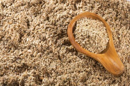 Food powder based on soy fiber with psyllium