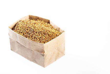 Organic Alfalfa Seeds in paper bag - Medicago sativa
