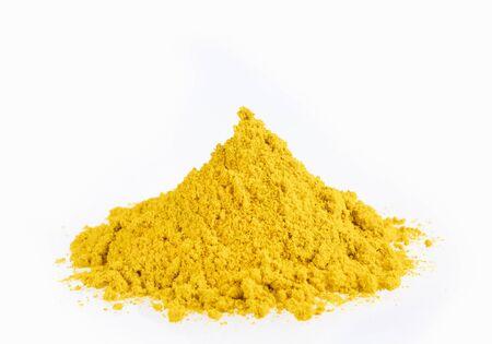 Organic curry powder - Text space 免版税图像