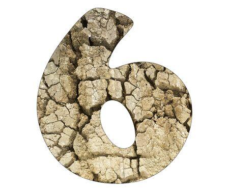 Number 1 - Arid land detail