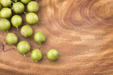 Melicoccus bijugatus - Natural fruit of the intertropical zone of America
