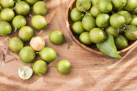 Delicious Tropical Fruit Mamoncillo - Melicoccus bijugatus