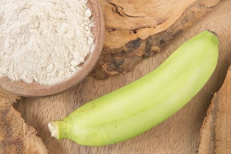 Natural green banana flour - Musa Paradisiaca
