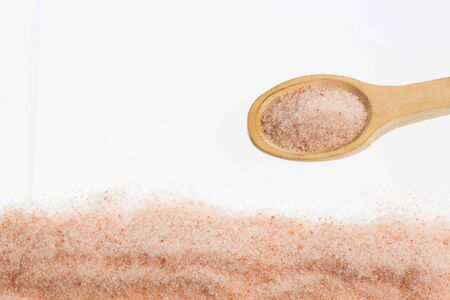 Fine grain pink salt from Himalayan Reklamní fotografie