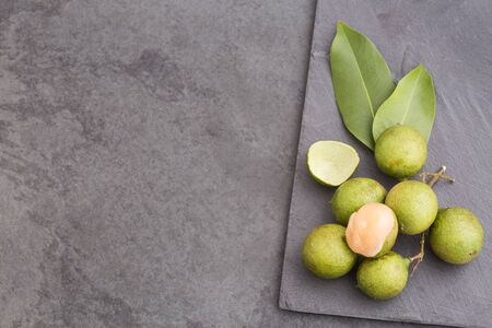 Mamoncillo delicious tropical fruit - Melicoccus bijugatus