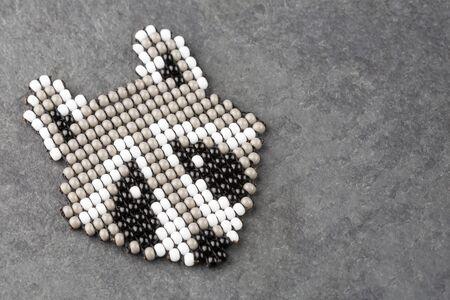 Colombian handmade accessory - Raccoon