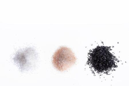 Sea salt, pink and black - Variety of salts