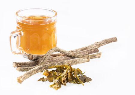 Valeriana officinalis - Valerian twigs and tea