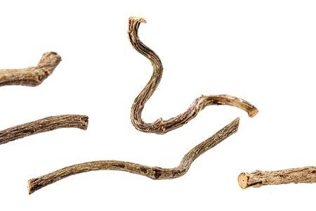 Dried stems of medicinal valerian - Valeriana officinalis