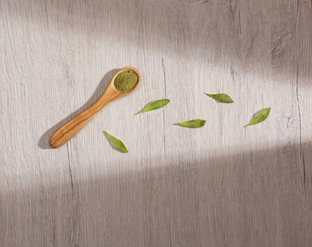 Stevia rebaudiana - Natural powdered sweetener from the stevia plant