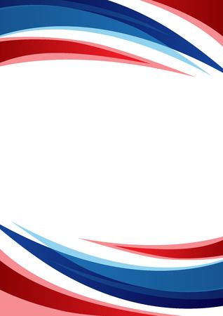 thailand Flag Abstract achtergrond - vector illustratie Stock Illustratie