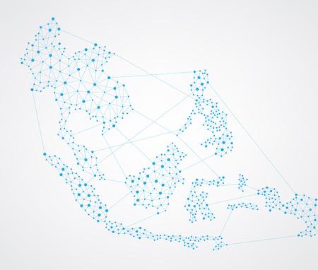 Map-Netzwerk Standard-Bild - 45527263