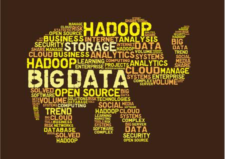 the big: concepto de gran hadoop datos