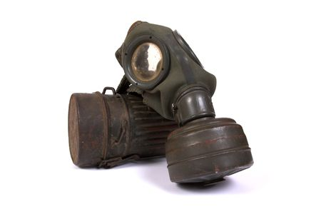 World war II gas mask (1) photo