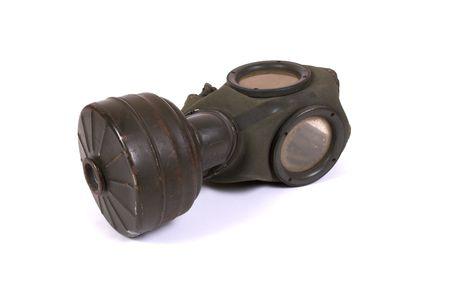 World war II gas mask (3) photo