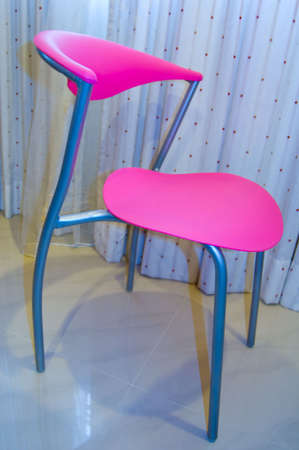 designer chair: Pink Designer Chair