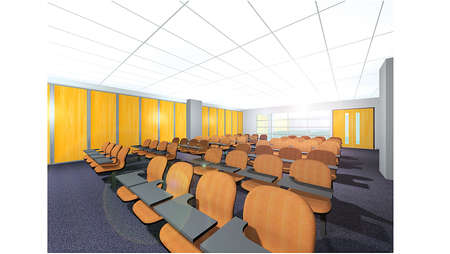 lecture hall: Training Room