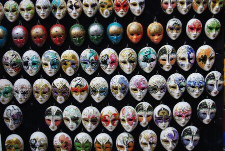 Masks in Venice photo