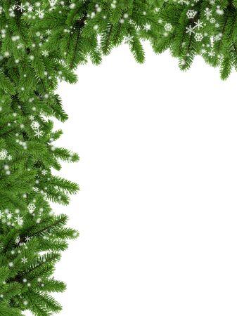 cristmas: Coniferous frame