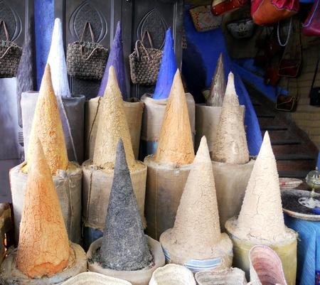 mercado marroquí, tradicional mercado marroquí Foto de archivo - 14835741