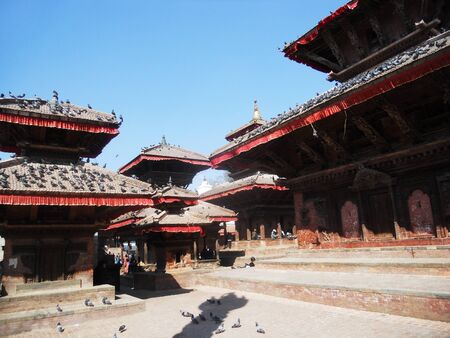 kathmandu: Nepalese architecture, traditional buildings in Kathmandu