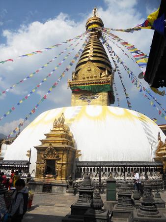 Nepalese temple, temple in Kathmandu