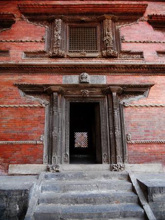 doorway: Nepalese entrance, doorway in Kathmandu, Nepal,