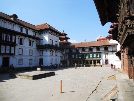kathmandu: Kathmandu palace, palace buildings in Kathmandu, Nepal
