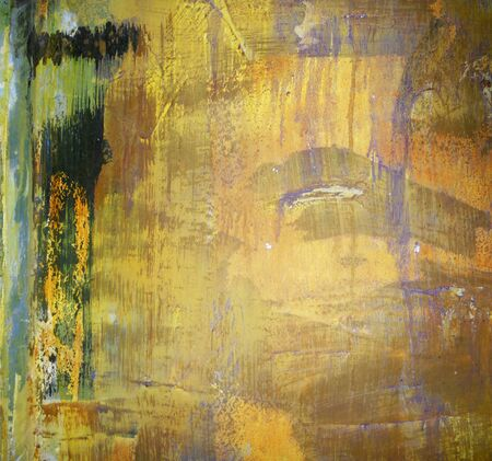 geen: paint texture 4, abstract paint texture background in gold and geen