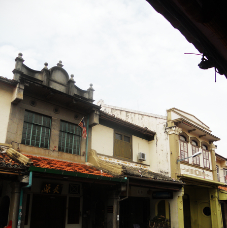 Sino-Portugese shop-houses in South East Asia Editorial