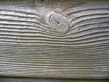 곡물이 능선, 주로 회색으로 표시와 함께 나무 판자에 착용 매듭.