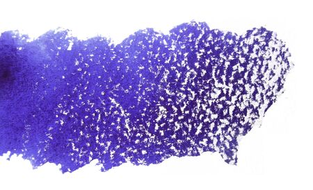 mixedmedia: Artistic texture of purple watercolor and white pastels, on rough watercolor paper, white background.
