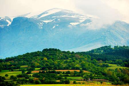 Balkan mountains with Botev peak Stock Photo - 6945435