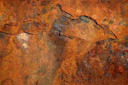 Rust-colored background, rusty steel Stock Photo - 6945523