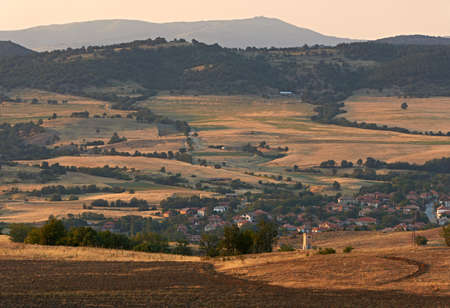 gora: Landscape from Sredna gora mountains in central Bulgaria Stock Photo