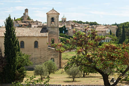 luberon: Ancient village of Lourmarin, South France, Provence, region of Luberon