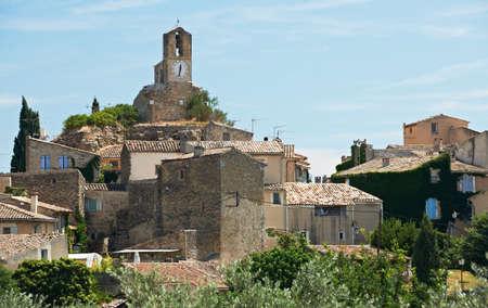 lourmarin: Ancient village of Lourmarin, South France, Provence, region of Luberon