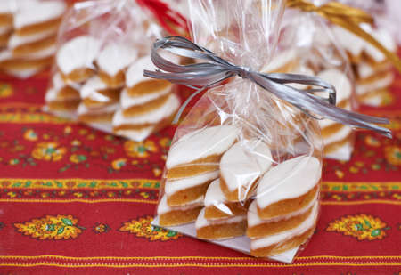Traditional and expensive Provence sweets made of almonds - Calissons d
