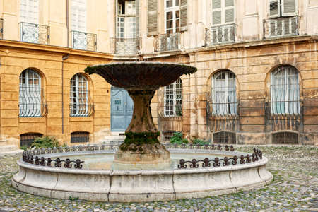 en: Fountain in Aix en Provence