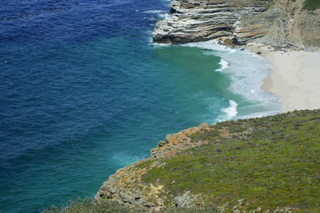 Cape of Good Hope (view from Cape Point), Table Mountain National Park, near Cape Town, South Africa  photo
