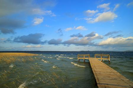 Scenic lake Nhlange, iSimangaliso wetland park, Kosi Bay, Tongaland, South Africa