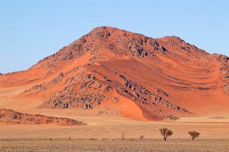 Rugged dune landscape, Sossusvlei, Namib desert, Namibia Imagens